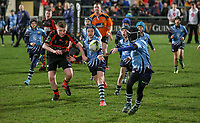 Saturday 23rd February 2019   Ulster vs Zebre<br /> <br /> Halftime Mini-Rugby during the Guinness PRO14 league clash between Ulster Rugby and Zebre at Kingspan Stadium, Ravenhill Park, Belfast, Northern Ireland. Photo by John Dickson / DICKSONDIGITAL