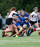 24 August 2019; Ellie Meade during the Under 18 Girls Interprovincial Rugby Championship match between Ulster and Leinster at Armagh RFC in Armagh. Photo by John Dickson / DICKSONDIGITAL