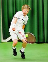 15-3-09, Rotterdam, Nationale Overdekte Jeugdkampioenschappen 12 en 18 jaar, Winnaar jongens 12 jaar:Tim van Rijthoven