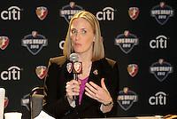 WPS CEO Jennifer O'Sullivan... The WPS draft 2012 was held at the Kansas City Conference Center, Kansas City, Missouri.