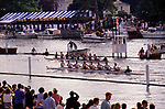 Henley Royal Regatta, Henley on Thames, Oxfordshire, England. 1980s UK