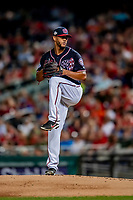 21 September 2018: Washington Nationals pitcher Joe Ross on the mound against the New York Mets at Nationals Park in Washington, DC. The Mets defeated the Nationals 4-2 in the second game of their 4-game series. Mandatory Credit: Ed Wolfstein Photo *** RAW (NEF) Image File Available ***