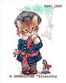 GIORDANO, CUTE ANIMALS, LUSTIGE TIERE, ANIMALITOS DIVERTIDOS, Teddies, paintings+++++,USGI1826,#AC# teddy bears