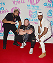 """MIAMI, FL - APRIL 23: Singer Raeliss, rapper Highlight and Avion attend the official Premiere and debut of Highlight and Jaquae music video release""""Movie"""" at Gallery House Miami on April 23, 2021 in Miami, Florida. ( Photo by Johnny Louis / jlnphotography.com )"""