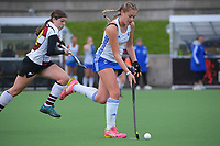 Auckland White v North Harbour 2. 2021 National Women's Under-18 Hockey Tournament day six at National Hockey Stadium in Wellington, New Zealand on Friday, 16 July 2021. Photo: Dave Lintott / lintottphoto.co.nz https://bwmedia.photoshelter.com/gallery-collection/Under-18-Hockey-Nationals-2021/C0000T49v1kln8qk