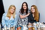 Lorna McNulty, Trisha Tierney and Bríd Mulrennan enjoying the evening in Croi on Saturday.