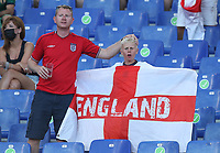3rd July 2021, Stadio Olimpico, Rome, Italy;  Euro 2020 Football Championships, England versus Ukraine quarter final;  Fans of England prior to the match