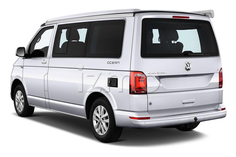 Car pictures of rear three quarter view of a 2018 Volkswagen California Ocean 4 Door Passenger Van angular rear