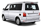 Car pictures of rear three quarter view of a 2018 Volkswagen California Ocean 4 Door Passenger Van angular rear