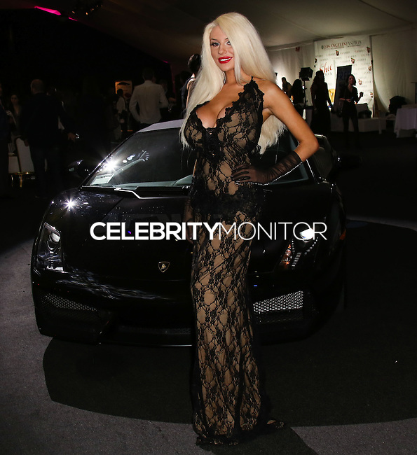 LOS ANGELES, CA, USA - MARCH 14: Courtney Stodden at the Style Fashion Week Los Angeles 2014 7th Season - Day 5 held at L.A. Live Event Deck on March 14, 2014 in Los Angeles, California, United States. (Photo by Xavier Collin/Celebrity Monitor)