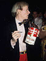 Andy Warhol 1980 Photo By Adam Scull/PHOTOlink