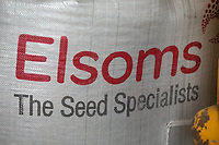 6-3-2021 Bag of Elsoms pea seed <br /> ©Tim Scrivener Photographer 07850 303986<br />      ....Covering Agriculture In The UK....
