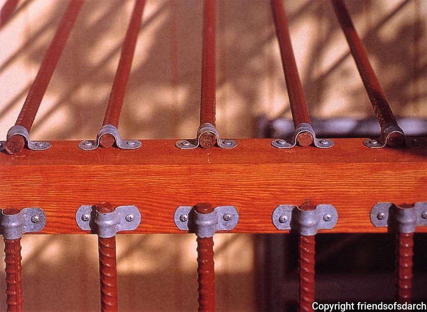Eric Owen Moss:  Detail. Petal House, Los Angeles. Photo April 2000.