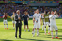 England manager Roy Hodgson waves goodbye to fans