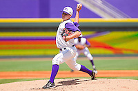 Starting pitcher Justin Collop #22 of the Winston-Salem Dash in action against the Wilmington Blue Rocks at BB&T Ballpark on April 24, 2011 in Winston-Salem, North Carolina.   Photo by Brian Westerholt / Four Seam Images