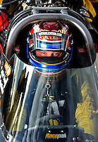 Oct. 31, 2008; Las Vegas, NV, USA: NHRA top fuel dragster driver Rod Fuller during qualifying for the Las Vegas Nationals at The Strip in Las Vegas. Mandatory Credit: Mark J. Rebilas-