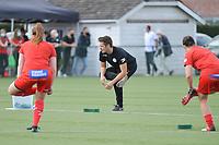 Zulte Waregem's physical coach Tom Van Hauwaert pictured during a female soccer game between SV Zulte - Waregem and RSC Anderlecht Dames on the second matchday of the 2020 - 2021 season of Belgian Scooore Women s SuperLeague , saturday 5 th of September 2020  in Zulte , Belgium . PHOTO SPORTPIX.BE | SPP | DIRK VUYLSTEKE