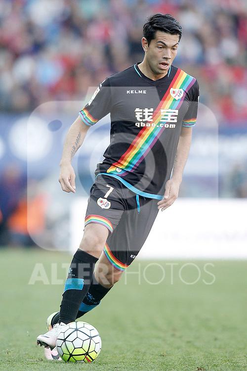 Rayo Vallecano's Miku during La Liga match. April 30,2016. (ALTERPHOTOS/Acero)