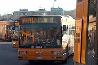 - bus depot Giambellino....- deposito autobus Giambellino
