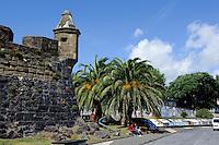 Hafen von Horta auf der Insel Faial, Azoren, Portugal