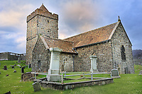 SC -OUTER HEBRIDES -Isle of Lewis &South Harris<br /> St. Clemens Church of 16th century. in Rodel<br /> <br /> Full size 69,2 MB<br /> Full size 69,2 MB