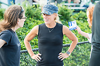 Boston, MA - Friday August 04, 2017: Kristine Lilly during a regular season National Women's Soccer League (NWSL) match between the Boston Breakers and FC Kansas City at Jordan Field.