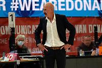 31-03-2021: Basketbal: Donar Groningen v ZZ Feyenoord: Groningen , Feyenoord coach Toon van Helfteren