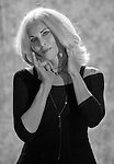 Joy Rudy poses for a portrait for photographer Frederic Larson in Mill Valley, CA..