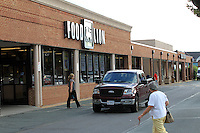 The Food Lion shopping center on Pantops in Charlottesville, Virginia. Photo/Andrew Shurtleff