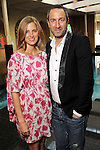 Amanda Brooks and Christos Garkinos at a cocktail party at the home of Becca Cason Thrash featuring a trunk show from  Garkinos Los Angeles boutique Decadestwo Wednesday April 21,2010.. (Dave Rossman Photo)