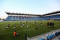 SAN JOSE, CA - SEPTEMBER 5: Colorado Rapids players before a game between Colorado Rapids and San Jose Earthquakes at Earthquakes Stadium on September 5, 2020 in San Jose, California.