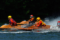 """Speeding to the starting line, 55-CE, 79-N and BOAT """"X""""  (hydro)"""