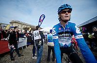 Paris-Roubaix 2012 ..2011 Roubaix-winner Johan Van Summeren at the start