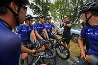 The Black Spoke team. Day one of the NZ Cycle Classic UCI Oceania Tour in Wairarapa, New Zealand on Wednesday, 15 January 2020. Photo: Dave Lintott / lintottphoto.co.nz