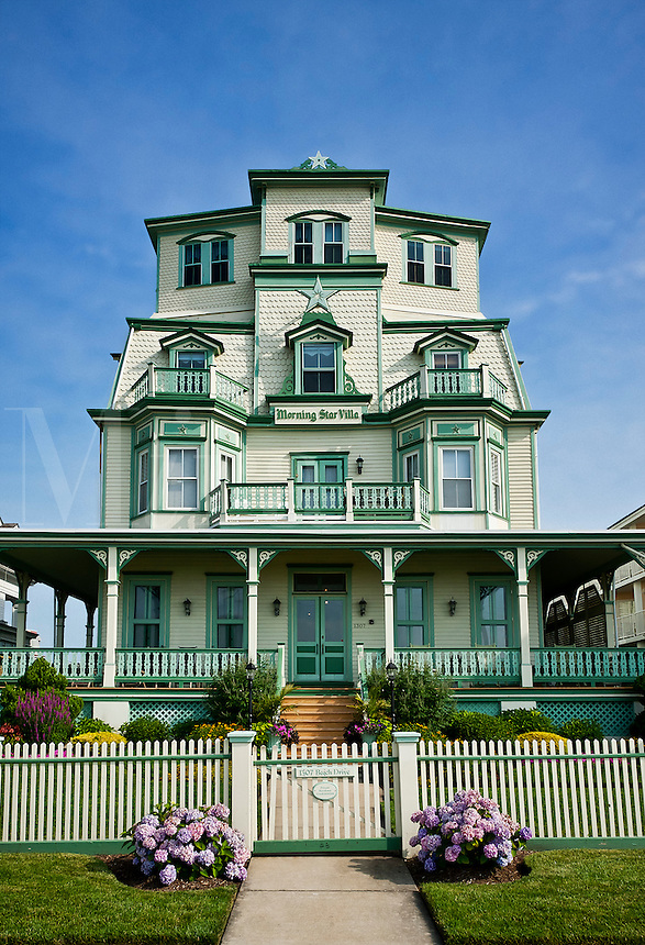 Grand victorian beach house, Cape May, New Jersey, NJ, USA