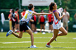 Swire Properties plays Toys R Us during the Swire Properties Touch Tournament at King's Park Sports Ground on 13th September 2014 in Hong Kong, China . Photo by Victor Fraile / Power Sport Images