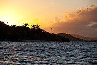 Sunset from Cinnamon Bay<br />