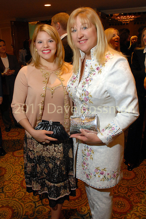 Tami Ernst and Donna Speer at the Houston Chronicle Best Dressed luncheon at the Westin Galleria Hotel  Monday March 10,2008.(Dave Rossman/For the Chronicle)