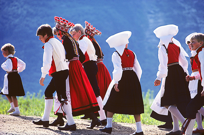 Midsummers Celebration, Lofthus, Norway