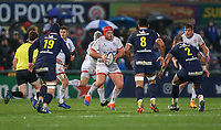 Friday 22nd November 2019   Ulster Rugby vs Clermont Auvergne<br /> <br /> Eric O'Sullivam during the Heineken Champions Cup Pool 3 Round 2 match between Ulster Rugby  and Clermont Auvergne at Kingspan Stadium, Ravenhill Park, Belfast, Northern Ireland. Photo by John Dickson/DICKSONDIGITAL