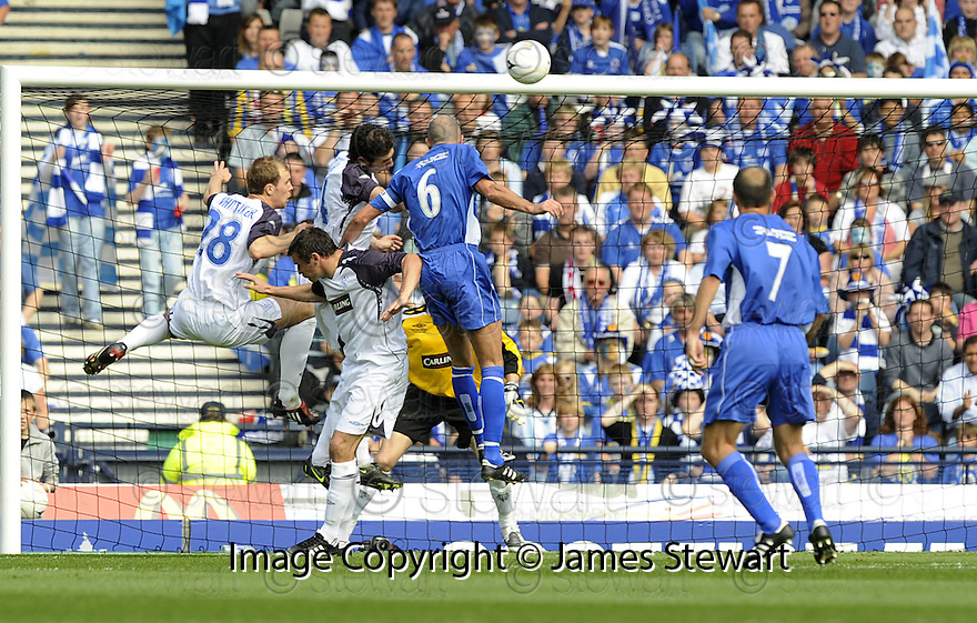 24/05/2008   Copyright Pic: James Stewart.File Name : sct_jspa19_qots_v_rangers.JIM THOMSON SCORES QUEEN'S SECOND.James Stewart Photo Agency 19 Carronlea Drive, Falkirk. FK2 8DN      Vat Reg No. 607 6932 25.Studio      : +44 (0)1324 611191 .Mobile      : +44 (0)7721 416997.E-mail  :  jim@jspa.co.uk.If you require further information then contact Jim Stewart on any of the numbers above........