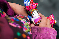 Colorful Native Market. Chichicastenango, Guatemala