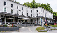 Cass, West Virginia. Cass Company Store, 1902, now a Visitor Center, Restaurant, Souvenir Handicrafts Store, and Post Office.