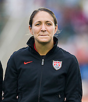 Stephanie Cox. The USWNT defeated Japan, 2-0,  at WakeMed Soccer Park in Cary, NC.