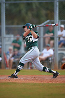 Michigan State Spartans designated hitter Zack McGuire (55) at bat during a game against the Illinois State Redbirds on March 8, 2016 at North Charlotte Regional Park in Port Charlotte, Florida.  Michigan State defeated Illinois State 15-0.  (Mike Janes/Four Seam Images)