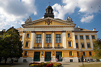 A Neo Classic school-  Kecskemét , Hungary