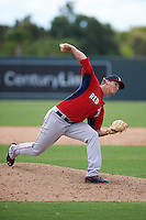 Boston Red Sox pitcher Jamie Callahan (60) during an instructional league game against the Minnesota Twins on September 26, 2015 at CenturyLink Sports Complex in Fort Myers, Florida.  (Mike Janes/Four Seam Images)