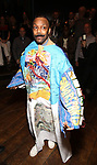 """v during the Actors' Equity Legacy Robe Ceremony honoring T. Oliver Reid for  """"Hadestown"""" at the Walter Kerr Theatre on April 17, 2019  in New York City."""