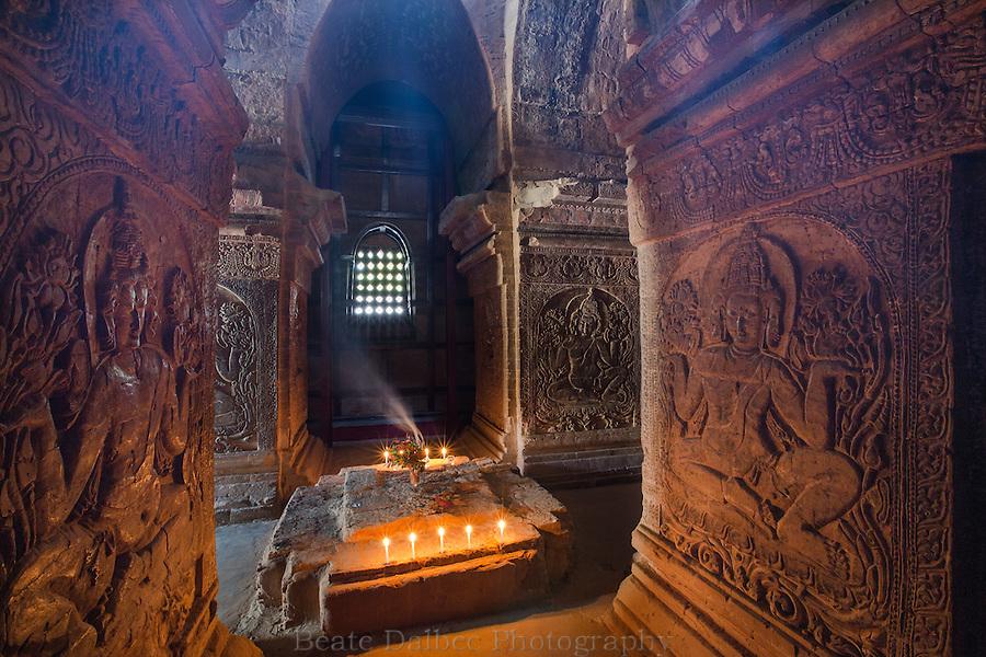 Nanpaya temple, Bagan, Myanmar