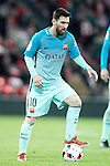 FC Barcelona's Leo Messi during Spanish Kings Cup match. January 05,2017. (ALTERPHOTOS/Acero)